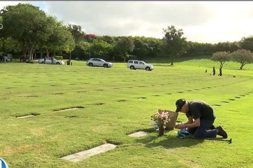 Cụ ông 93 tuổi hàng ngày thăm mộ vợ