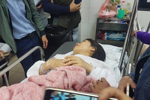 Tình trạng sức khỏe của các nạn nhân vụ xe Lexus tông liên hoàn tại Hà Nội