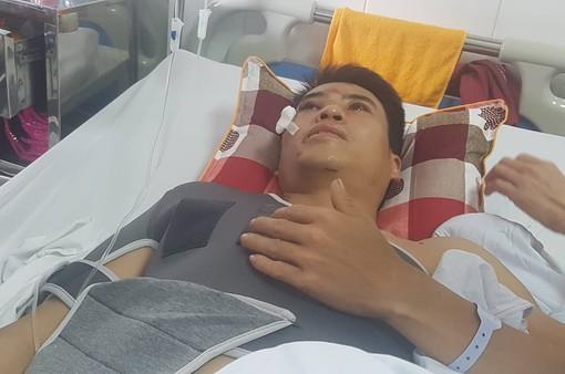 Vụ xe Lexus gây tai nạn liên hoàn ở phố Trích Sài: Nạn nhân bàng hoàng kể giây phút gặp nạn