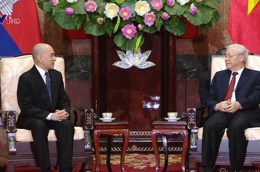 """""""Việt Nam luôn coi trọng mối quan hệ hữu nghị, hợp tác tốt đẹp với Campuchia"""""""