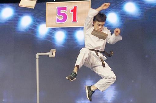 """Đội tuyển Taekwondo Việt Nam chiến thắng tập 11 """"100 giây rực rỡ"""""""