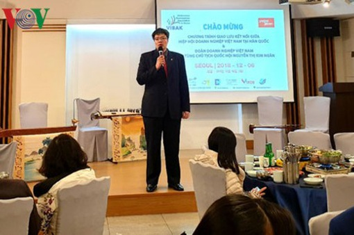 Giao lưu doanh nhân Việt Nam tại Hàn Quốc