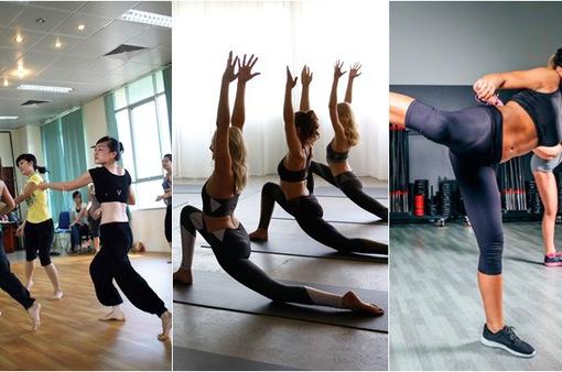 Những bài tập thể dục đang được yêu thích trên thế giới