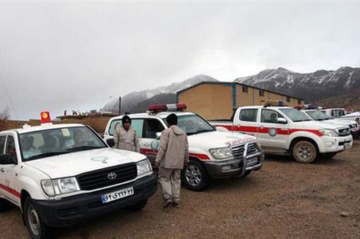Đã tiếp cận được hiện trường vụ rơi máy bay ở Iran