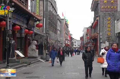 Người dân Bắc Kinh (Trung Quốc) đón Tết trong bầu không khí trong lành