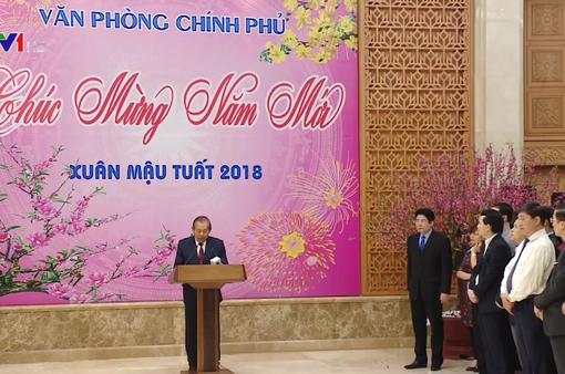 Lãnh đạo Đảng và Nhà nước chúc Tết một số cơ quan, tổ chức