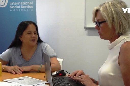 Giấc mơ nói được tiếng Việt Nam của một phụ nữ mù gốc Việt