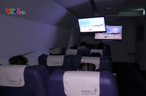 Du lịch từ Nhật Bản đến Paris trên chuyến bay... ảo
