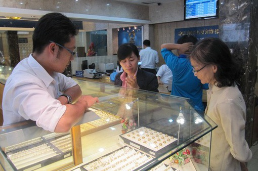 Giá vàng miếng tăng nhẹ sau kỳ nghỉ Tết Nguyên đán