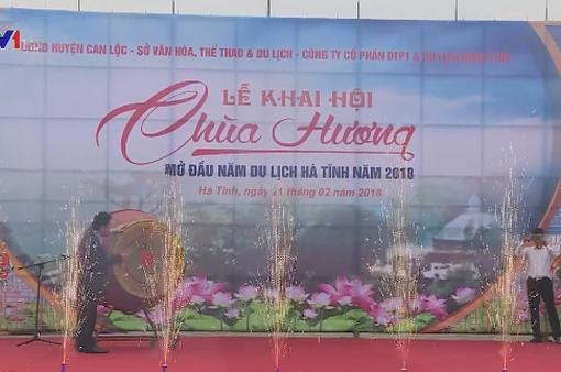 Khai hội chùa Hương Tích, mở đầu Năm du lịch Hà Tĩnh 2018