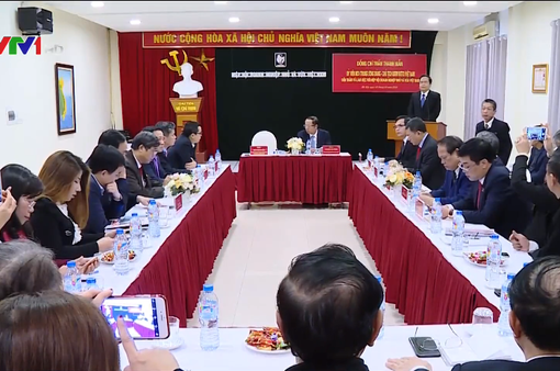 Chủ tịch Ủy ban MTTQ Việt Nam thăm doanh nghiệp nhỏ và vừa