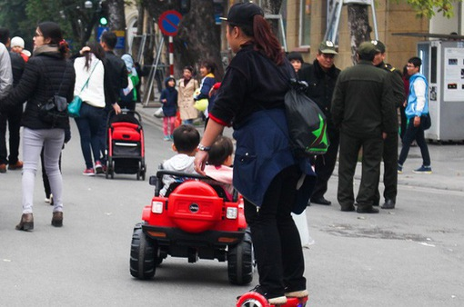 Những tai nạn đáng tiếc khi sử dụng xe điện, xe đồ chơi