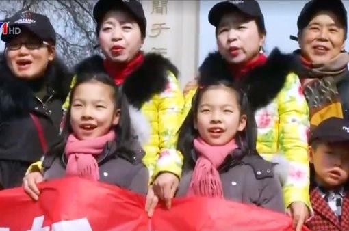 Hơn 10 cặp song sinh tại Trung Quốc hội ngộ