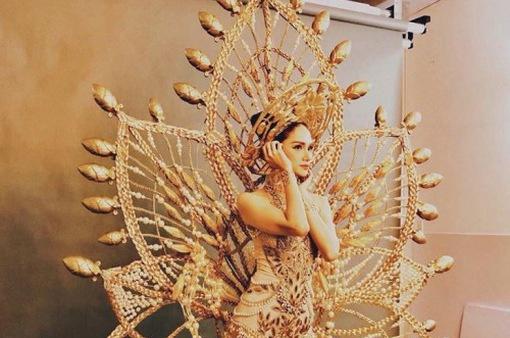 Hé lộ trang phục truyền thống Hương Giang Idol dự thi Hoa hậu Chuyển giới Quốc tế
