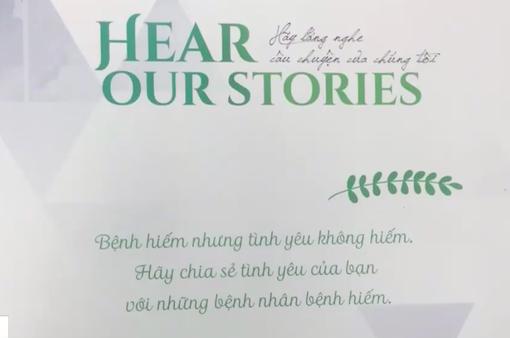 """Ra mắt cuốn sách """"Hear Our Stories"""" - Lắng nghe câu chuyện của chúng tôi"""