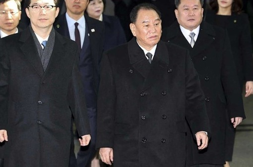 Đoàn đại biểu cấp cao Triều Tiên tới Hàn Quốc dự lễ bế mạc Olympic PyeongChang 2018