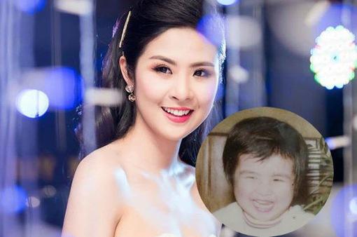 """Hoa hậu Ngọc Hân bất ngờ khoe ảnh thời """"béo tốt bền vững"""""""