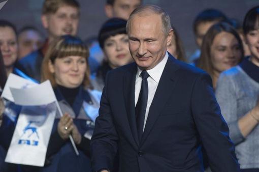 Vì sao Tổng thống Nga Putin là ứng cử viên áp đảo?