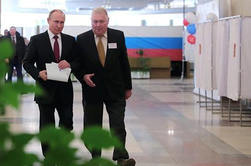 Ông Putin chiếm ưu thế trong cuộc bầu cử Tổng thống Nga