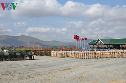 Tập trận chung Campuchia - Trung Quốc