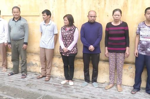 Hưng Yên: Triệt phá đường dây đánh bạc với quy mô tiền tỷ