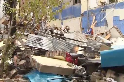 VIDEO: Nhà hàng lẩu nướng tan hoang sau vụ nổ kinh hoàng trong đêm