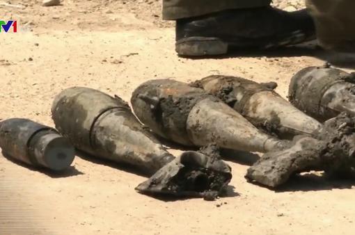 Thái Lan phát hiện nhiều bom chưa nổ