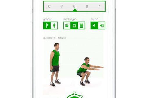 """Bỏ túi ngay 5 ứng dụng tập thể dục cực """"hot"""" trên smartphone"""