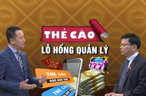 Thẻ cào viễn thông biến thành công cụ thanh toán đánh bạc: Làm sao để bịt lỗ hổng?