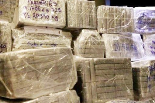 Peru thu giữ 1,5 tấn cocaine