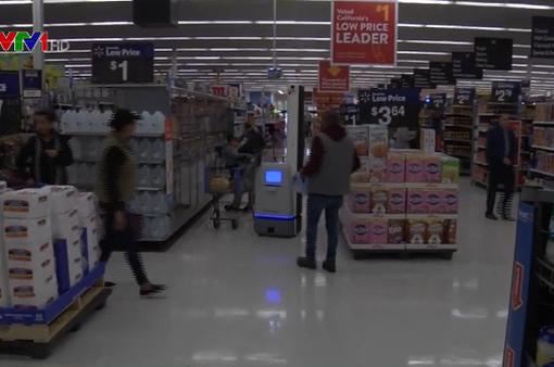 Robot hỗ trợ siêu thị bán hàng