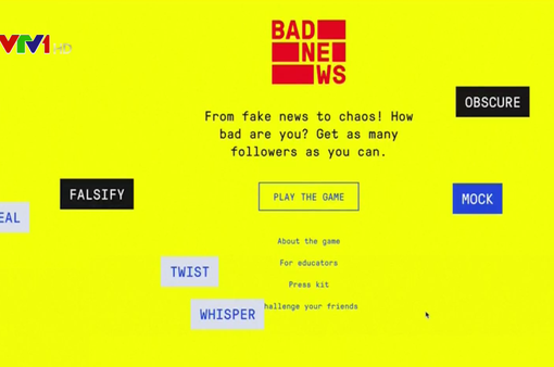 Bad News - Trò chơi luyện... chống tin tức giả