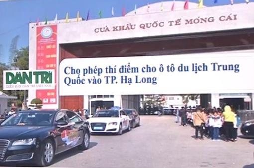 Băn khoăn chuyện cho phép xe du lịch Trung Quốc vào TP Hạ Long, Quảng Ninh