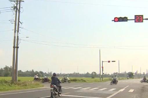 """""""Ngã tư tử thần"""" tại Cần Thơ đã có đèn giao thông"""