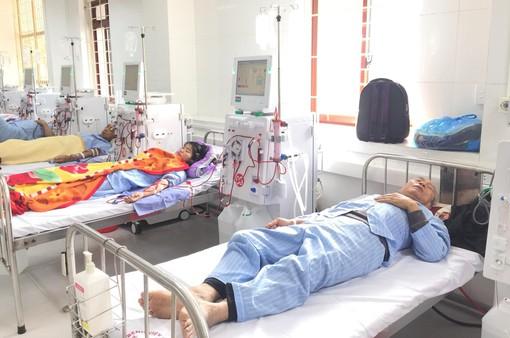 Đơn nguyên thận nhân tạo tại Bệnh viện đa khoa tỉnh Hòa Bình hoạt động trở lại