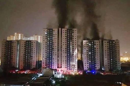 Bộ Y tế chỉ đạo khẩn trương cấp cứu, điều trị người bị nạn trong vụ cháy chung cư Carina