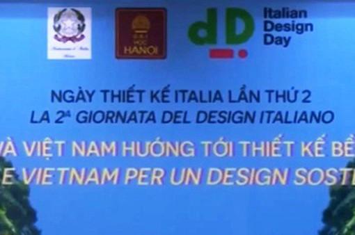 Hợp tác Việt Nam - Italy tiến tới thiết kế bền vững