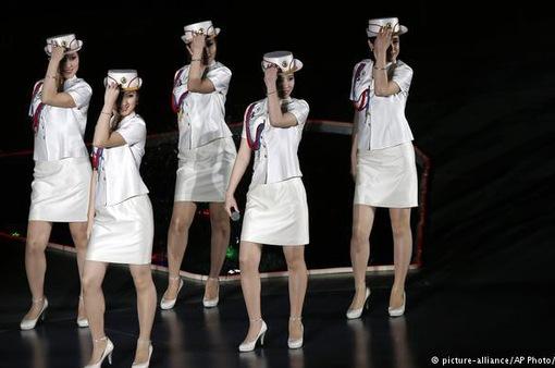 Tháng 4, đoàn nghệ thuật hai miền Triều Tiên biểu diễn chung