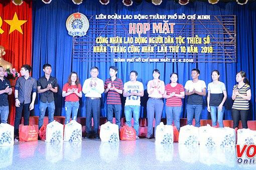 TP.HCM họp mặt lao động dân tộc thiểu số