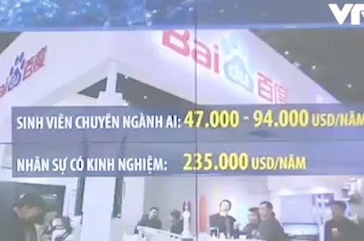 """""""Sốt"""" nhân lực AI tại Trung Quốc"""