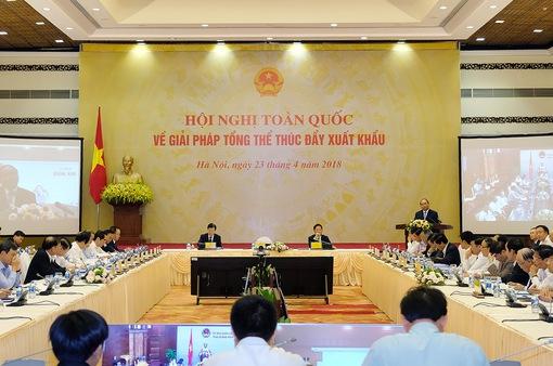 Hội nghị toàn quốc về thúc đẩy xuất khẩu