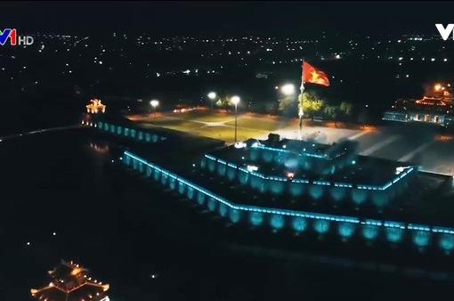 Thắp sáng Kỳ Đài Huế với 1.000 chiếc đèn Led