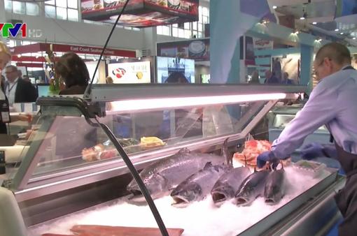 Việt Nam tham gia Hội chợ Thủy sản quốc tế Brussels