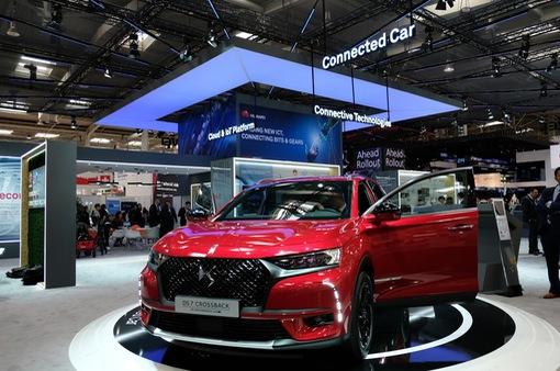 Chiếc xe hơi kết nối đầu tiên chính thức ra mắt tại Hannover Messe 2018