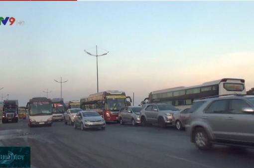 TP.HCM: 4 ô tô đâm va liên hoàn trên đường dẫn cao tốc TP.HCM - Trung Lương