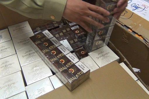 Thu giữ gần 24.000 điếu thuốc lá và cigar không rõ nguồn gốc tại Hà Nội