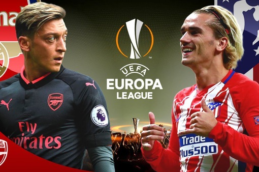 Lịch trực tiếp bán kết lượt đi Europa League: Arsenal đại chiến Atletico