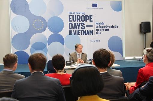 Ngôi làng châu Âu - Điểm nhấn đặc biệt của Những ngày châu Âu 2018 tại Việt Nam