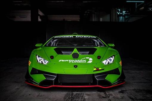 """Lamborghini Huracan Super Trofeo EVO - """"Bò chiến"""" trên đường đua"""