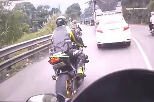 Cảnh báo tai nạn từ mô tô phân khối lớn